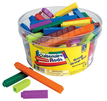 Cuisenaire Rods Set of 155