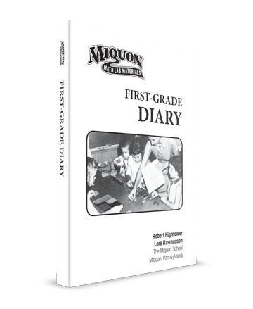Miquon Math Teacher Books First Grade Diary