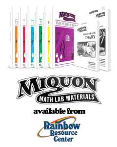 Purchase Miquon Math from Rainbow Resource Center