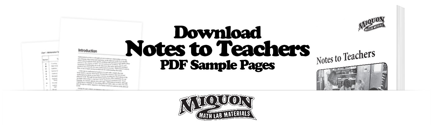 Download a Free Sample of Notes to Teachers