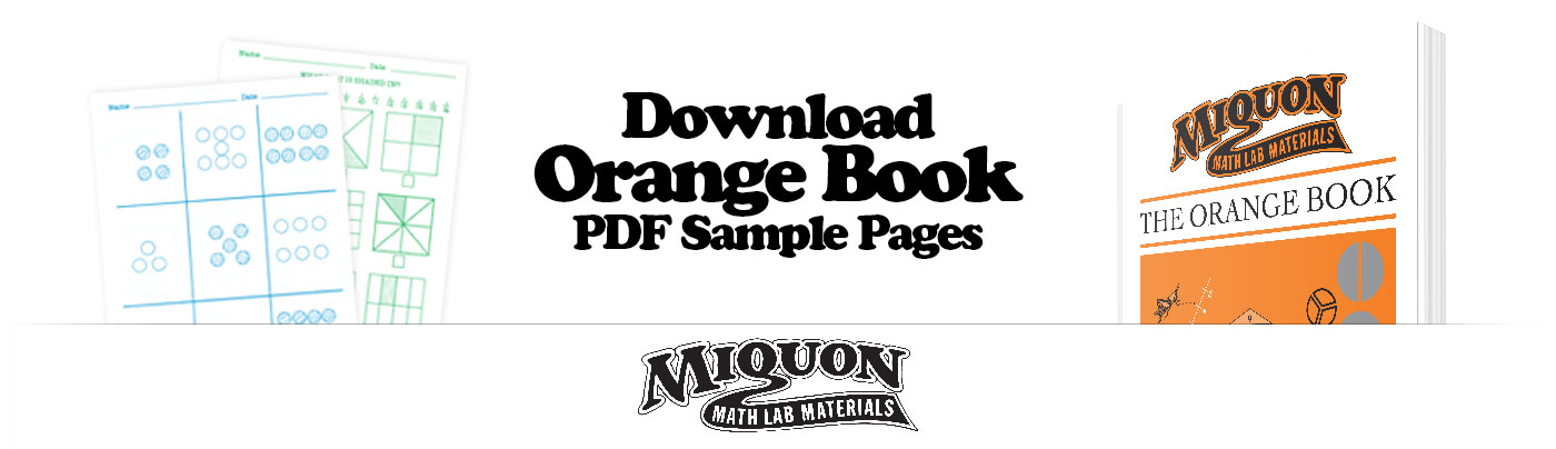 Download a Free Sample of Miquon Math Grade 1 Orange Book