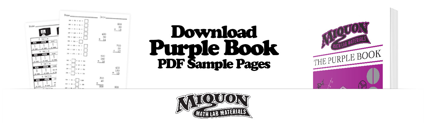 Download a Free Sample of Miquon Math Grade 3 Purple Book