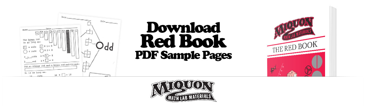 Download a Free Sample of Miquon Math Grade 1 Red Book