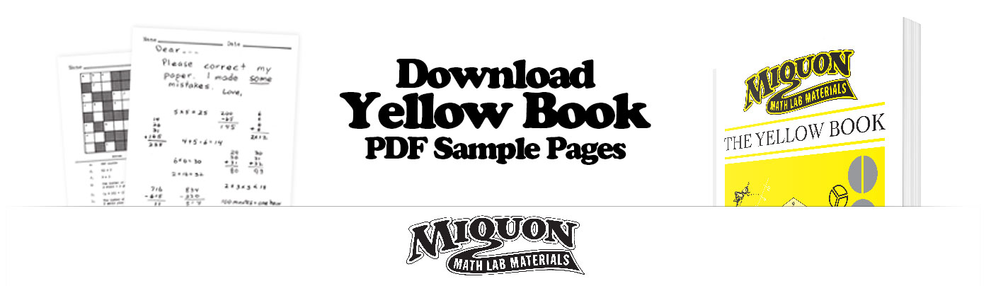 Download a Free Sample of Miquon Math Grade 3 Yellow Book