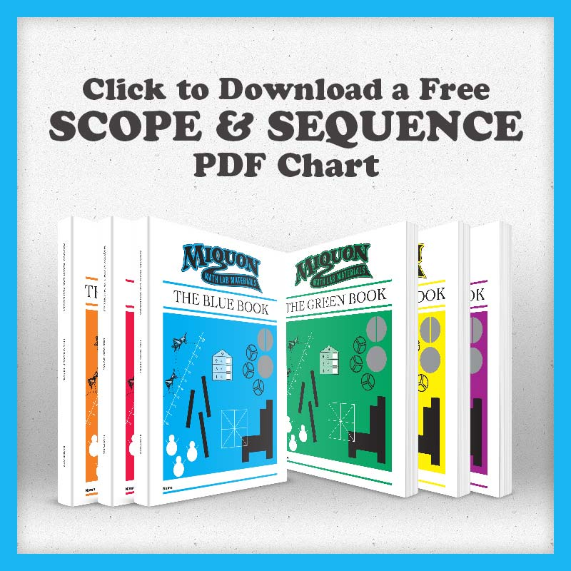 Download a Scope & Sequence of Miquon Math Labs